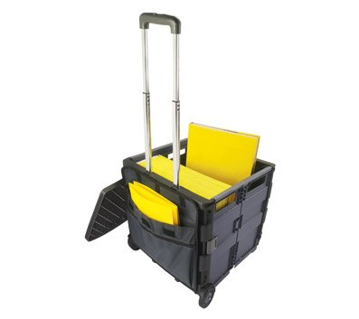 Rolling File Cart With Locking Lid Heavy 12 Drawer