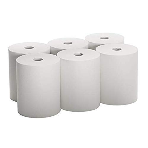 EnMotion-Compatible High Capacity (Tad) Paper Towels, 10 Inch Wide Rolls (6 Rolls) Premium Quality by CulinPro