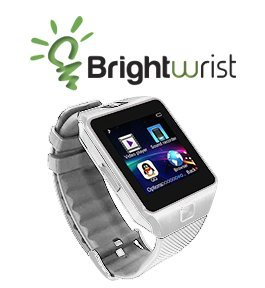 Brightwrist Smartwatch (Cashmere White on Silver)