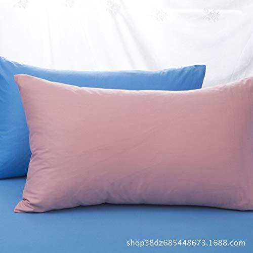 ZZALL - Fundas de Almohada de Punto de algodón 100% con ...