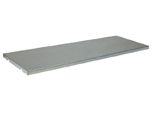 Justrite 29939 SpillSlope Galvanized Steel Shelf, 31-5/9'' Width x 18'' Depth, For 22 Gallon Undercounter Safety Cabinet