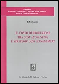 Book Il costo di produzione tra cost accounting e strategic cost management