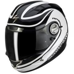 CASCO INTEGRAL MOTO SCORPION EXO 1000 AIR PATRIOT NEGRO Y BLANCO TALLA L..