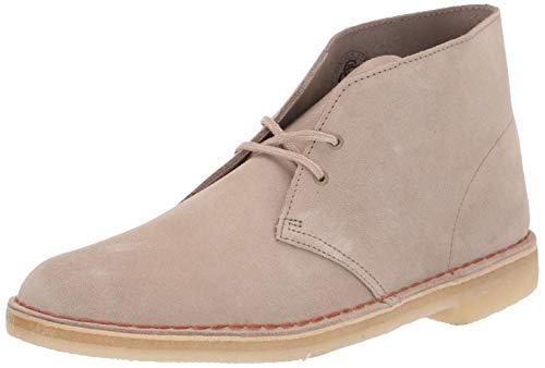 Clarks Men's DESERT BOOT Boot, sand suede, 095 M US