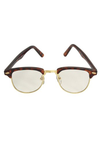 [Elope Mens Mr. 50's Glasses Clear Standard] (Best 50s Costumes)