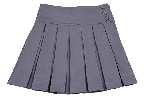 Cheap Dance Uniforms - Bienzoe Girl's Stretchy Pleated Adjustable Waist