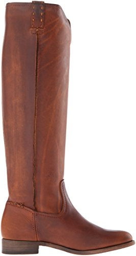 FRYE Cara Calf Boot Cognac Extended Leather Slouch Women's Tall 4rqU4B