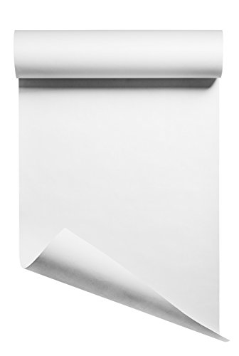 Heat Transfer Vinyl HTV/Iron-on 12 Inches by 5 Feet Roll (White)