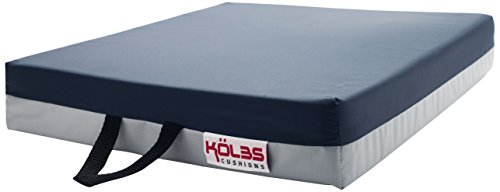 Kölbs Cushions Gel Supreme Wheelchair Seat Cushion, 24 X 18 X 3 Inch (24 Seat Cushion)