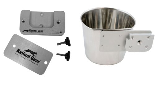Kennel-Gear 1-Quart Crate Style Dog Pail