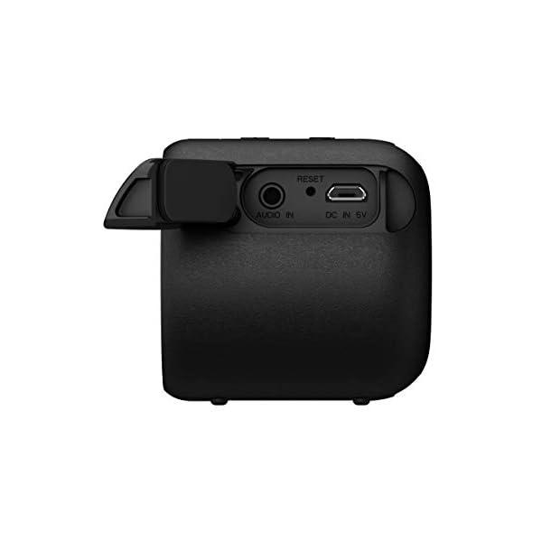 Sony SRS-XB01 Enceinte portable ultra compacte résistante à l'eau - Noire 5