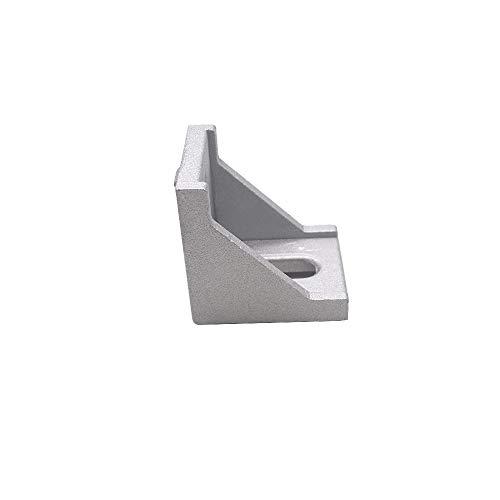 HONJIE 4040 Inside Corner Bracket Gusset for 4040 Aluminum Extrusion Profile with Slot-10PCS