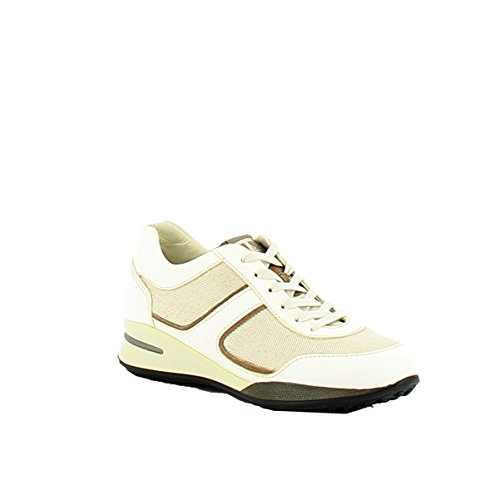 Tod's Sneakers Donna XSW0NA0D480EA5163R Pelle Beige/Bianco