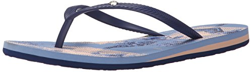 Chambray Women's Flop Bermuda Roxy Flip Sandal 6XBqwId0
