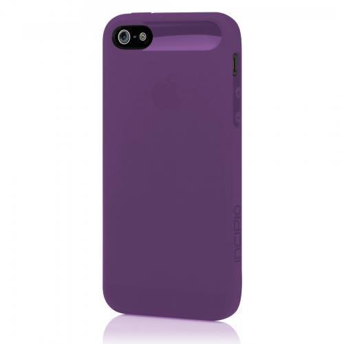Incipio iPhone 5 5S SE Case, NGP [Flexible TPU] Authentic Shockproof Ultra-Thin Slim Cover - Translucent Indigo Violet