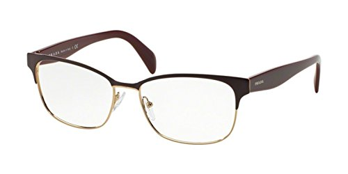 (Prada Women's PR 65RV Eyeglasses 53mm)