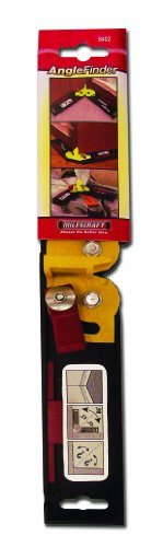 Angle Finder - obtains and divides angles accurately - Ideal for mitre saw work by Milescraft
