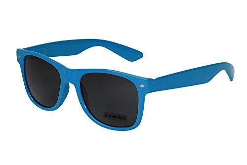 X nerd sol de Azul elegir 45 colores vintage retro CRUZE® modelos Gafas a unisex AqwAaUZ