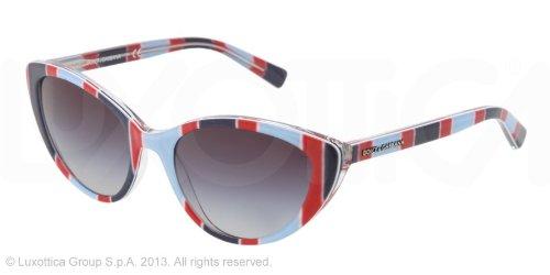 DOLCE & GABBANA Gafas de sol DG 4202 27198G Rayas Azul Azul ...