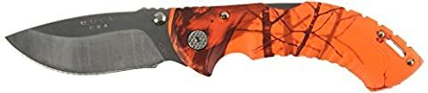 Buck 395 Omni Hunter 10 PT Folding Hunting Knife (Oak Blaze Camo) - Omni Hunter Coltello