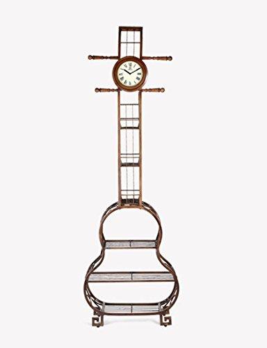 SUNQIAN-Shoes rack clock, clock idea European style living room, bedroom mute clock, multifunctional watch big ornaments by SUNQIAN