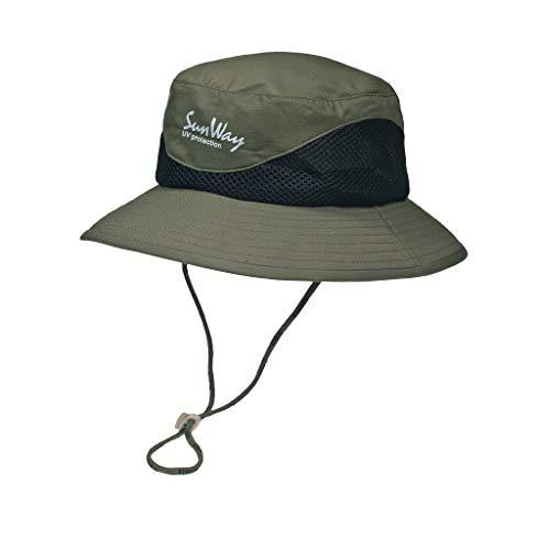 b0b07ea73 Sunway Wide Brim Hat, 62 cm, Olive