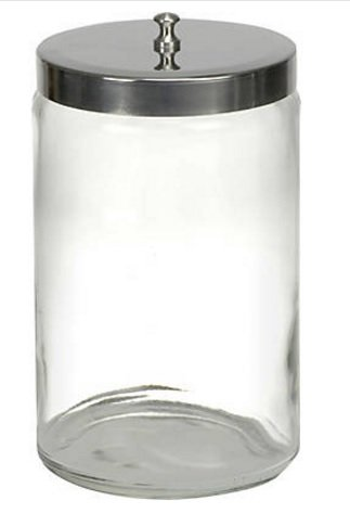 McKesson Glass Sundry Jars - 63-4012EA - 1 Each by McKesson
