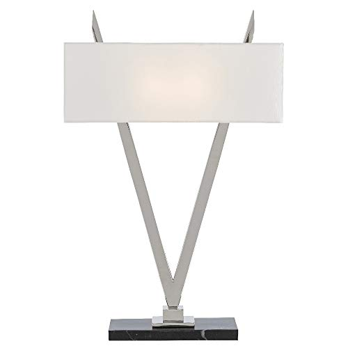 Currey & Company Lighting Willemstad Nickel Table Lamp