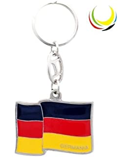 Amazon.com : Keychain USA-ARGENTINA FLAGS : Key Tags And ...