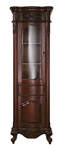 Avanity Provence 24 in. Linen Tower in Antique Cherry finish