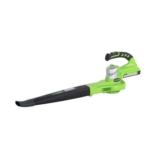 - Greenworks 24V 2-Speed Cordless Sweeper 2400202