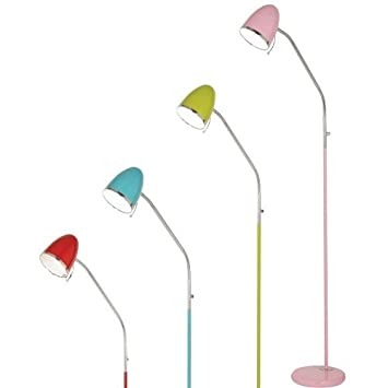 Oaks Lighting 2819 FL PP Madison Pale Pink Floor Lamp