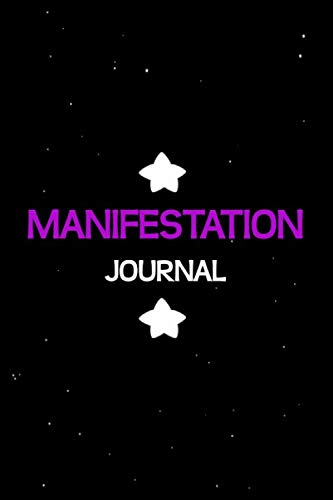 Manifestation Journal for Women: Law of Attraction For Abundance JOURNAL Money Magnet Health Lined Blank  Paper Notebook Sky Stars