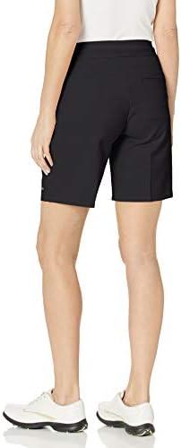 Cutter & Buck Annika Women's Moisture Wicking Drytec 50+ UPF Competitor Pull-On Short, Black, XLarge