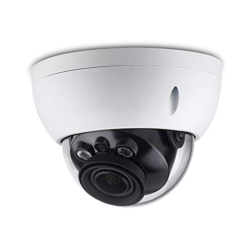 4MP HD Security POE IP Camera IPC-HDBW4433R-ZS, 2.7-13.5mm Motorized Varifocal Lens 5X Optical Zoom,Outdoor Network Surveillance Dome Camera, Micro SD Card,50m Smart IR,WDR,IP67 IK10,ONVIF