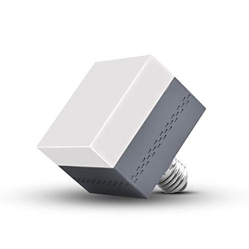 E26 LED Bulb Cube Shape 9W (60W Incandescent Equivalent) 1000 Lumen 6000K Daylight White Non-Dimmable E26 Medium Screw Base for Office/Home ()