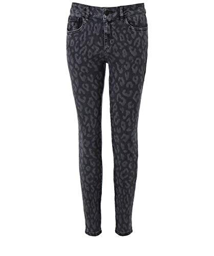 Florence Jeans Grigio Leopard Da Dl1961 Skinny Stampa Ritagliata Donna Wq8EwpOT