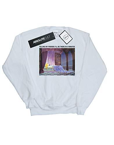 Beauty shirt Sleeping Blanc In I'll Disney There Garçon Sweat Be 5 qfZxSCw