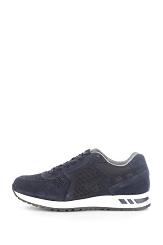 sneakers Nero Giardini p604071u camosciotessuto Blue