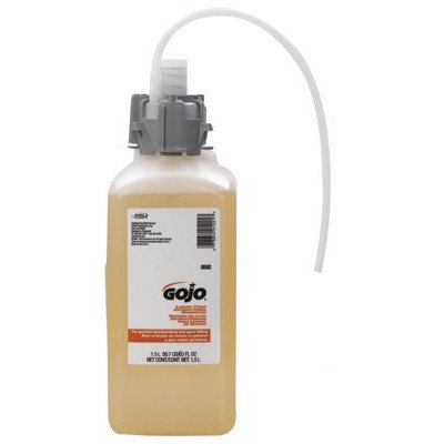 1,500 Ml Refill (GOJO Industries 315-8562-02 Luxury Foam Antibacterial Handwash, CX 1500 mL)