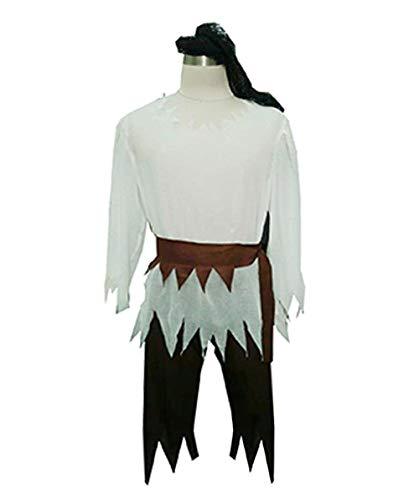 HalloweenPartyOnline Adult Men's Costume Pirate Shirt HC-140 -
