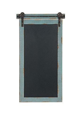 (Deco 79 98453 98453 Chalkboard,  Slate Blue/Black)