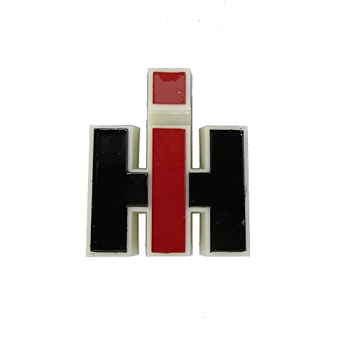Case Ih International - 120397C1 Beige Plastic Front Emblem for Case IH 284384 385 433 484 485 584