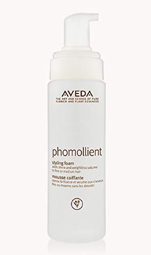 - Aveda Phomollient Styling Foam (mousse) 6.7oz/200ml