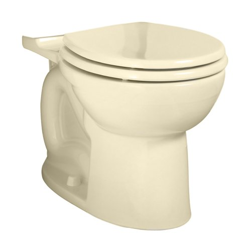(American Standard 3717B001.021 Cadet 3 FloWise Right Height Round Front Toilet Bowl Only in Bone )