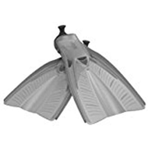 Aeris Accel Open Heel Fins (Grey, XL/XXL)