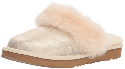 UGG Girls' K Cozy II Metallic Slipper, Gold, 10 M US for sale  Delivered anywhere in USA