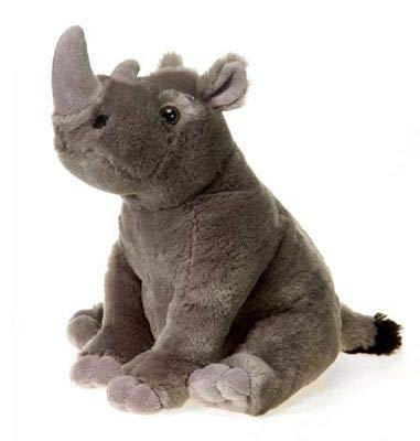 "Wildlife Tree 10"" Stuffed Rhino Plush Animal Rhinoceros African Safari Collection"