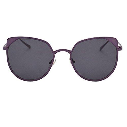Aoligei Européens et américains célèbres lunettes mode pour Street lunettes de soleil hommes au volant-grande-taille Dame verres B
