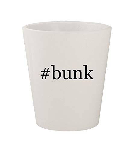 - #bunk - Ceramic White Hashtag 1.5oz Shot Glass